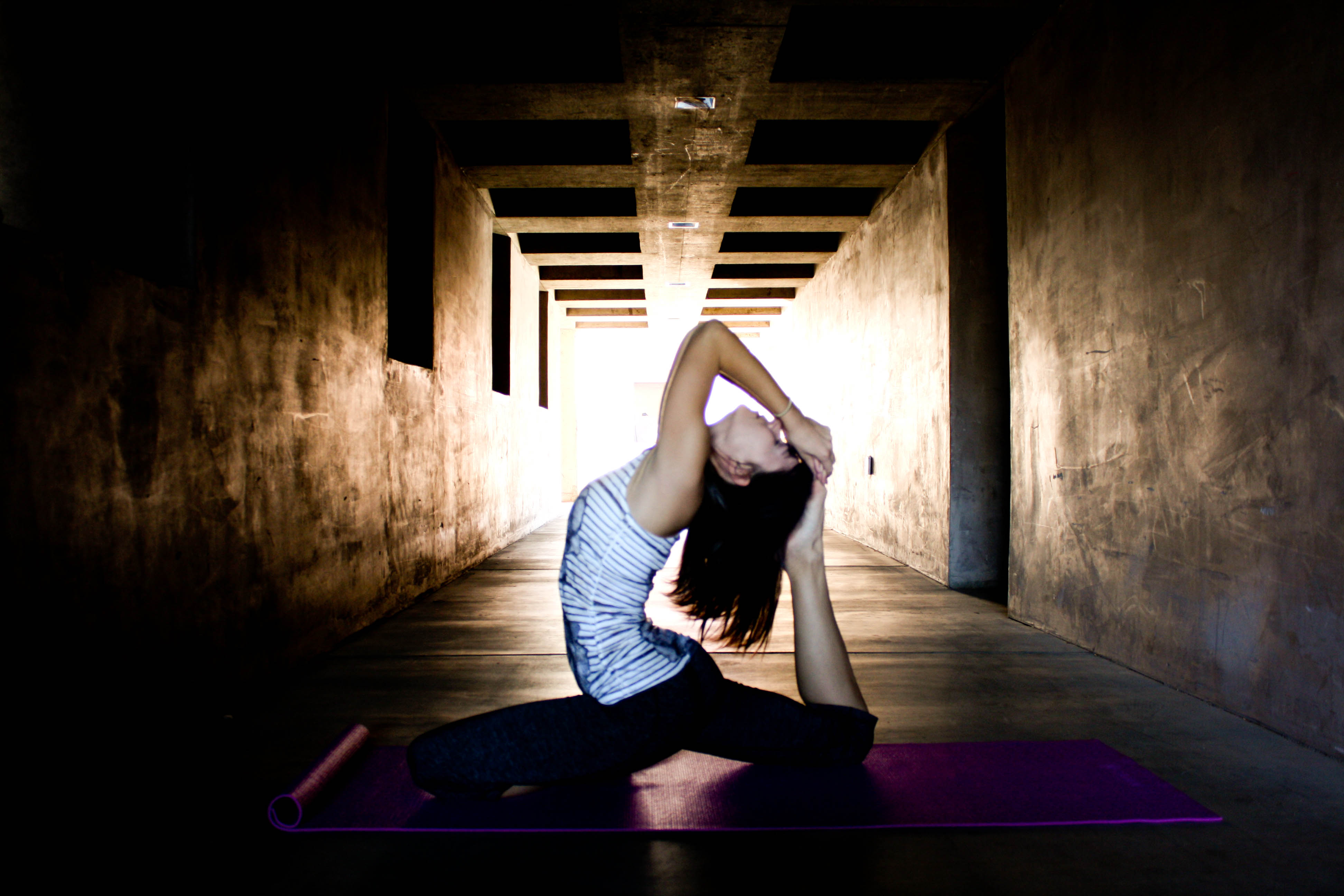 Yoga Art Photography Katerina: Yoga at Temp...